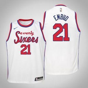 Youth Philadelphia 76ers Joel Embiid Jersey